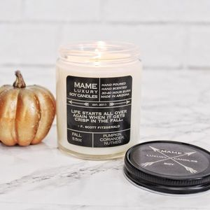 Other - NEW Pumpkin Fall Soy Candle 🍂🎃